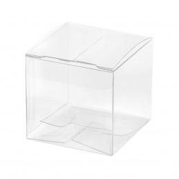 Set 10 cutiute din acetofan transparente 5 cm