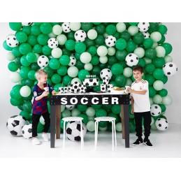 Set 6 lumanari 3D Mingi de Fotbal