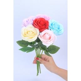 Set 25 Trandafiri de Sapun Albi