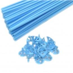 Set 100 Bete + Rozete Bleu