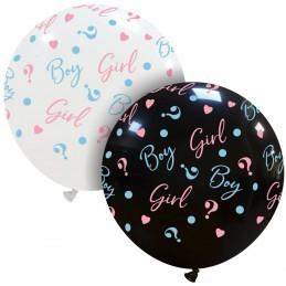 Balon Jumbo Girl or Boy ? Alb Gender Reveal