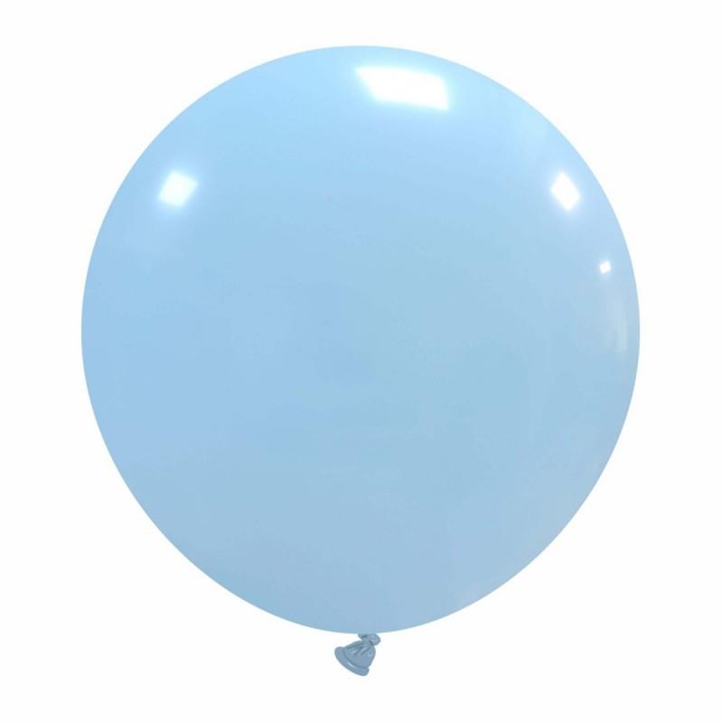 Set 50 Baloane Jumbo Pastel Baby Blue 48 cm