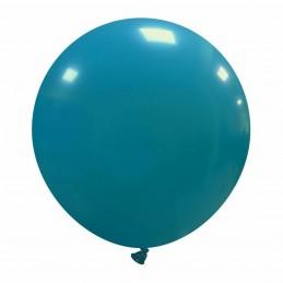 Set 50 Baloane Jumbo Turcoaz 48 cm