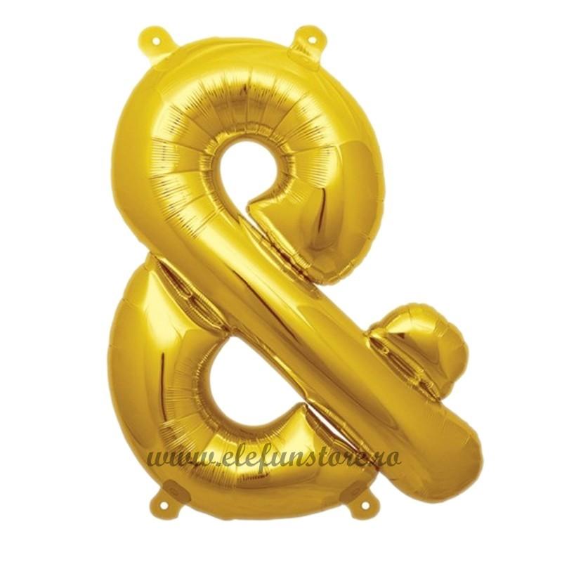 "Balon "" & ""  Gold 40 cm"