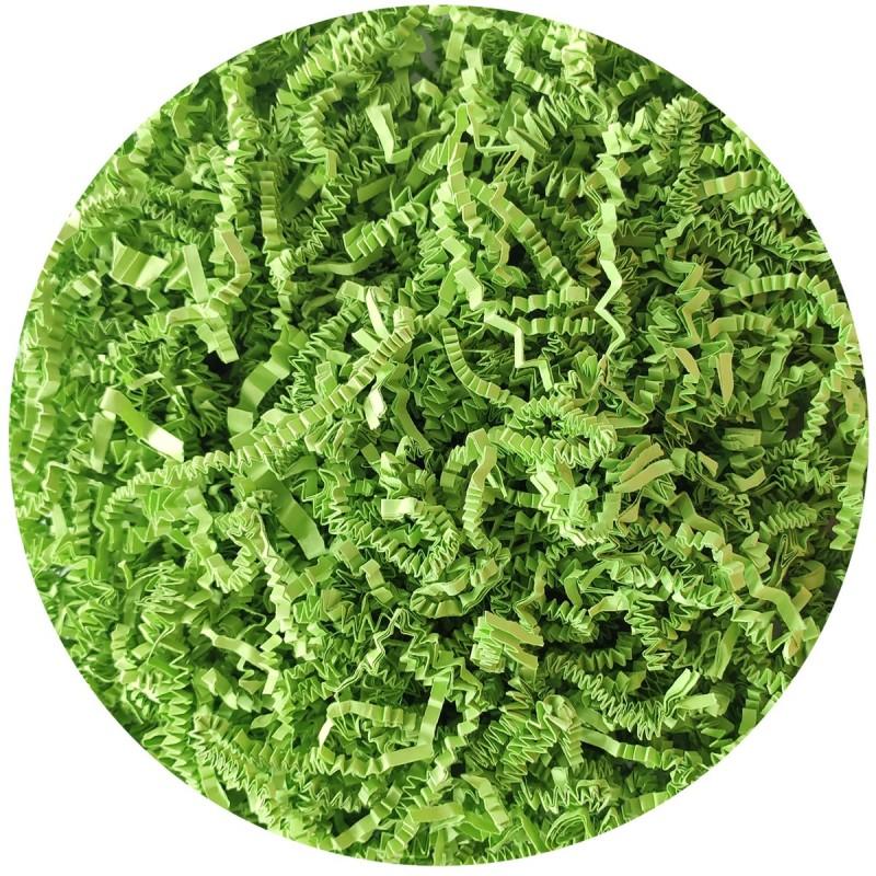 Hartie tocata verde, umplutura pt cadouri 100g