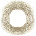 Coronita din salim alb decolorat 16 cm