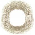 Coronita din salim alb decolorat 24 cm
