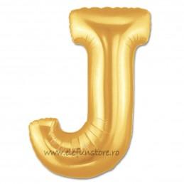 """Balon """"Litera I"""" Gold"""