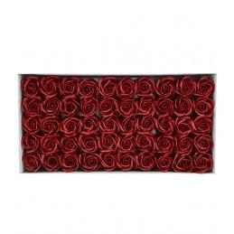 Set 50 Trandafiri de Sapun Ciocolata Maro