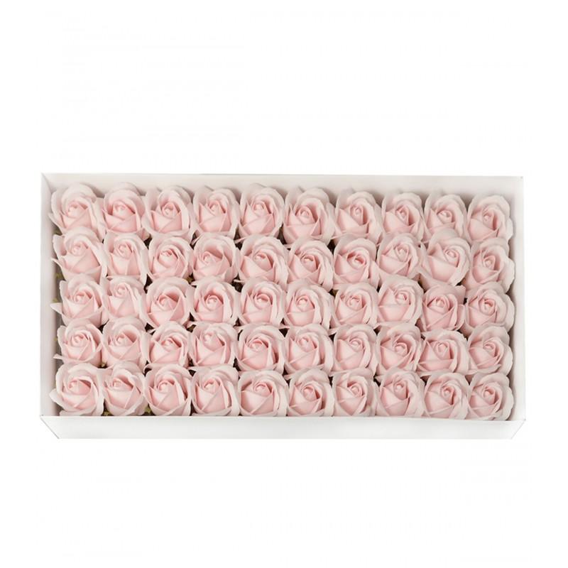 Set 50 Trandafiri de Sapun Roz Pal