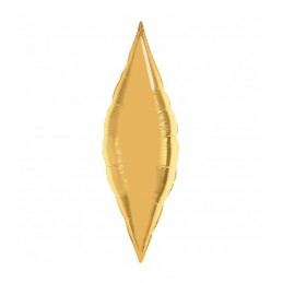 Balon Fus 45 cm Auriu Metalizat