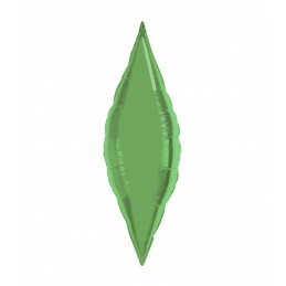Balon Fus 45 cm Verde Metalizat
