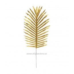 Frunza de Palmier Aurie Mare, 53cm