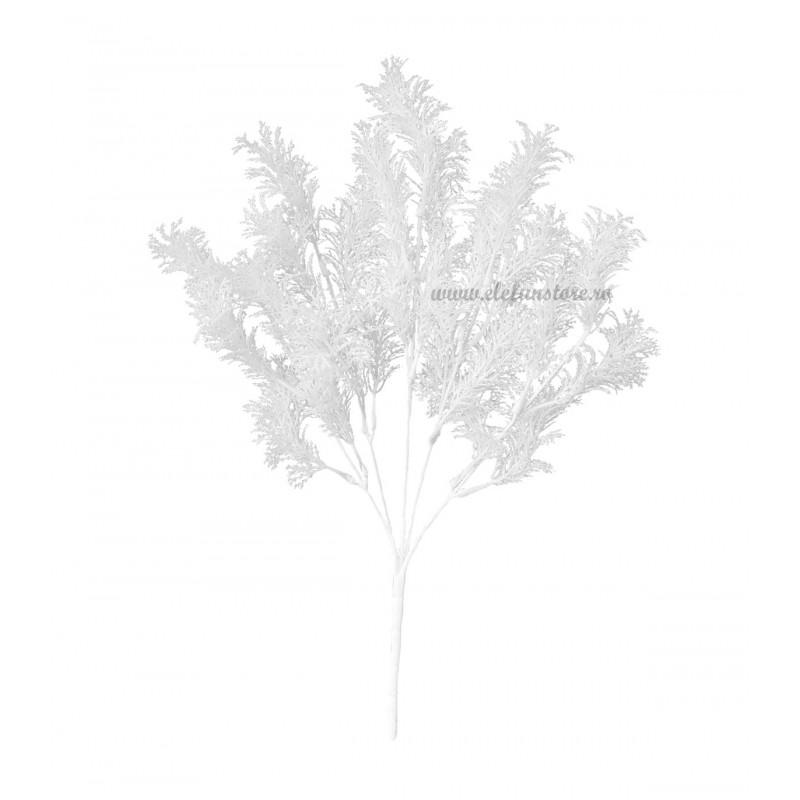 Buchet alge albe, 5 fire 32 cm