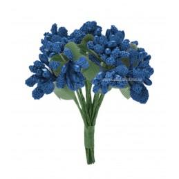 Set 144 stamine artificiale albastre