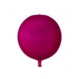 Balon Sfera 3D 25cm Burgundy Satin