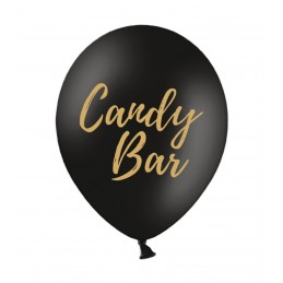 Set 5 baloane Candy Bar Negre