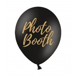 Set 5 baloane Photo Booth Negre