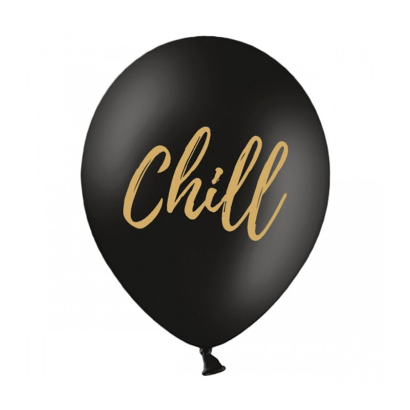 Set 5 baloane Chill Negre