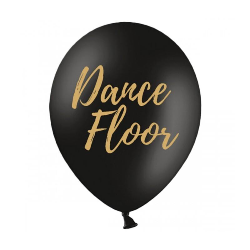 Set 5 baloane Dance Floor Negre