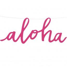 Banner Aloha Roz, Tropical...