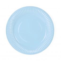 Set 6 farfurii bleu 18cm