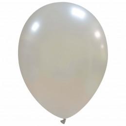 Set 100 Baloane Argintiu...