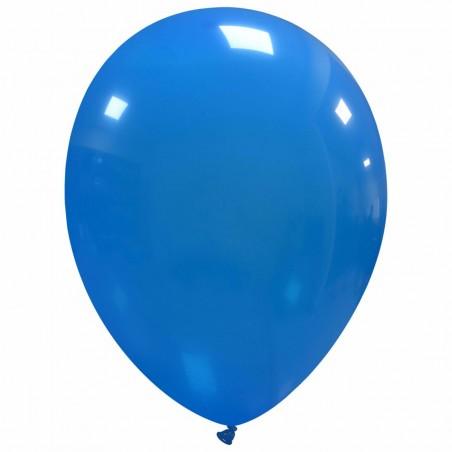 Set 100 Baloane Albastru Deschis 30cm