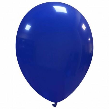 Set 100 Baloane Albastru Inchis 30cm