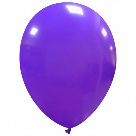 Set 100 Baloane Mov 30cm