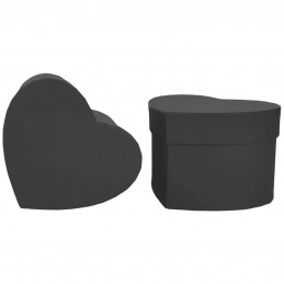 Cutie inima neagra 12cm
