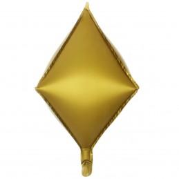 Balon Romb 3D Auriu Satin...