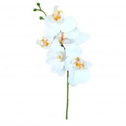 Orhidee alba din silicon 5...