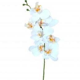 Orhidee alba din silicon 7...