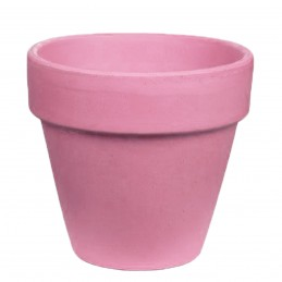 Ghiveci teracota roz 7cm