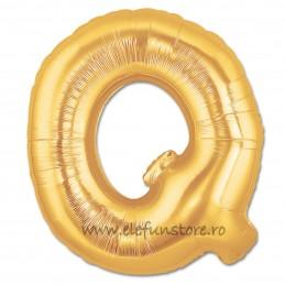 """Balon """"Litera P"""" Gold"""