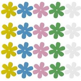 Set 40 floricele colorate...