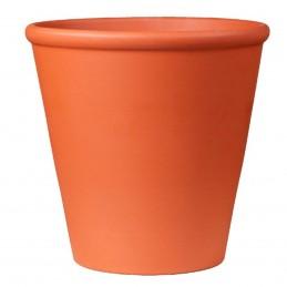 Ghiveci lut portocaliu 12cm