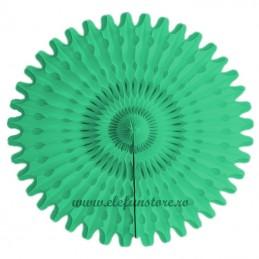 Evantai Rozeta Verde Deschis 30 cm