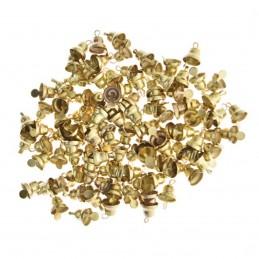 Set 100 mini clopotei aurii...