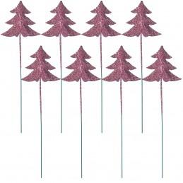 Set 8 braduti roz cu...