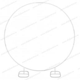Arcada cerc din metal pt flori si baloane