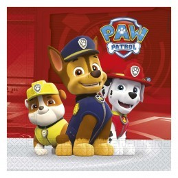 Set 20 servetele Paw Patrol