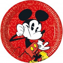 Set 8 farfurii Cool Mickey...
