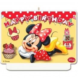 Lumanare Minnie Mouse HAPPY...