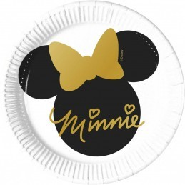 Set 8 farfurii Minnie Mouse...