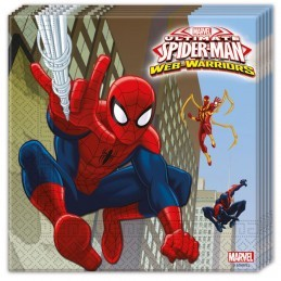 Set 20 servetele Spiderman