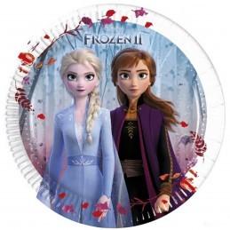 Set 8 farfurii Frozen II 20 cm