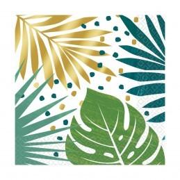 Set 16 servetele Palm Leaves