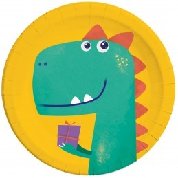 Set 8 farfurii Dino Roar!...